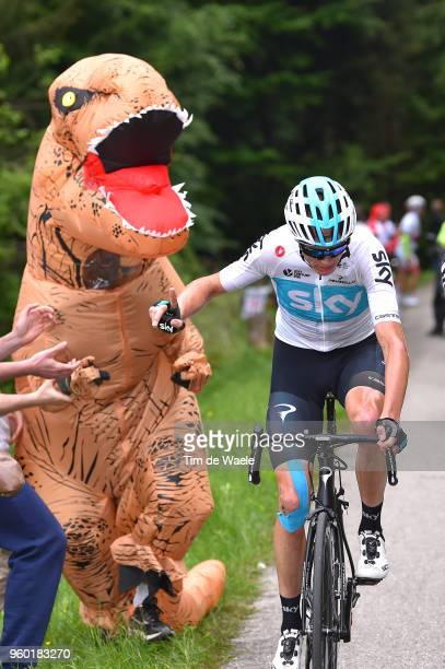 / Christopher Froome of Great Britain and Team Sky / Fan / Public / during the 101st Tour of Italy 2018 Stage 14 a 186km stage from San Vito Al...