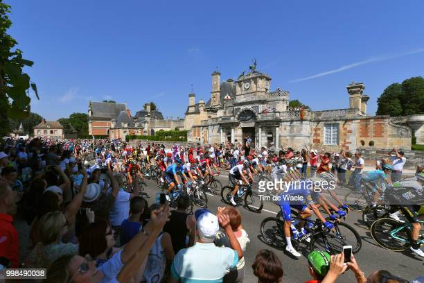 Christopher Froome of Great Britain and Team Sky / Niki Terpstra of The Netherlands and Team QuickStep Floors / Tim Declercq of Belgium and Team...
