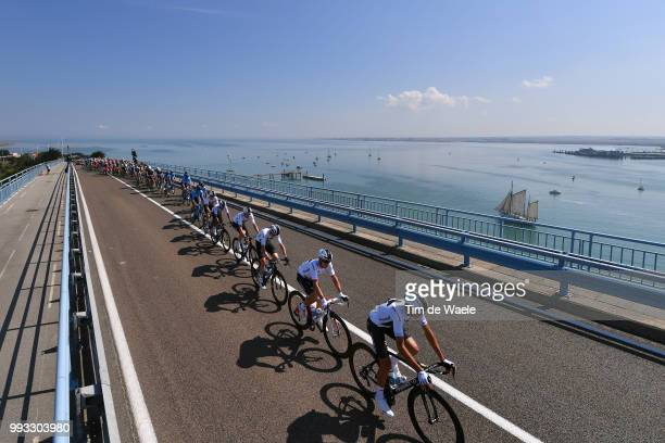 Christopher Froome of Great Britain / Egan Arley Bernal Gomez of Colombia Britain / Jonathan Castroviejo Nicolas of Spain Britain / Michal...