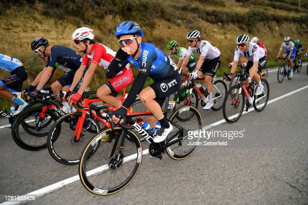Christopher Froome of The United Kingdom and Team INEOS Grenadiers / Enrico Gasparotto of Switzerland and NTT Pro Cycling Team / Jonathan Lastra...