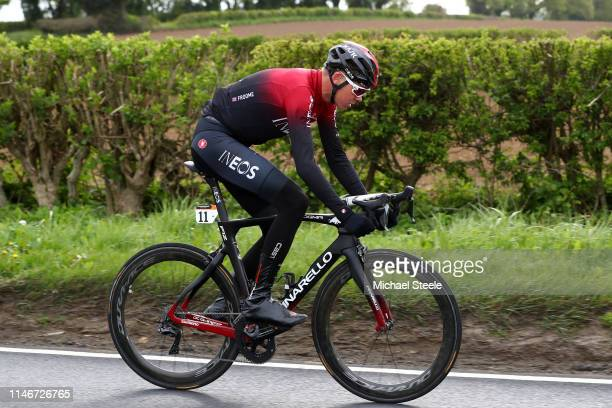 Christopher Froome of United Kingdom and Team INEOS / during the 5th Tour of Yorkshire 2019 Stage 2 a 132km stage from Barnsley to Bedale /...