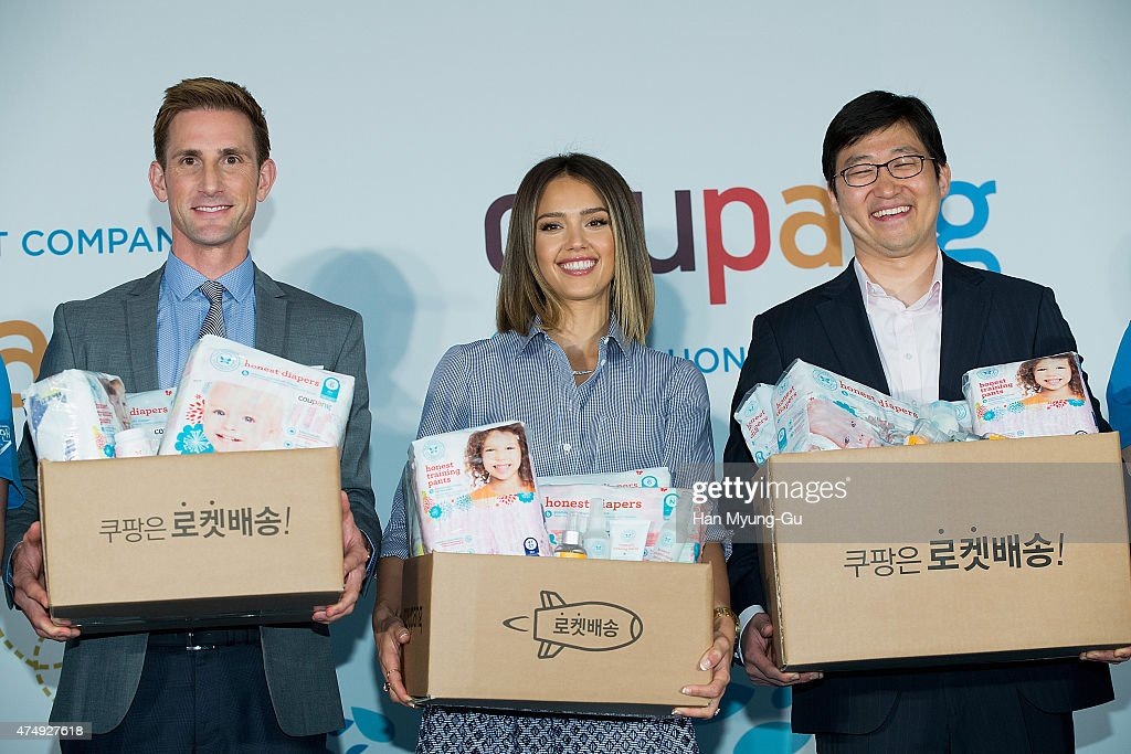 """E-Commerce Company """"COUPANG"""" Press Conference In Seoul"""