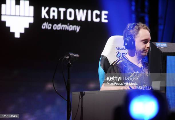 Christopher GeT RiGhT Alesund during CounterStrike Global Offensive quarterfinal game between Team Liquid and Ninjas in Pyjamas on March 2 2018 in...