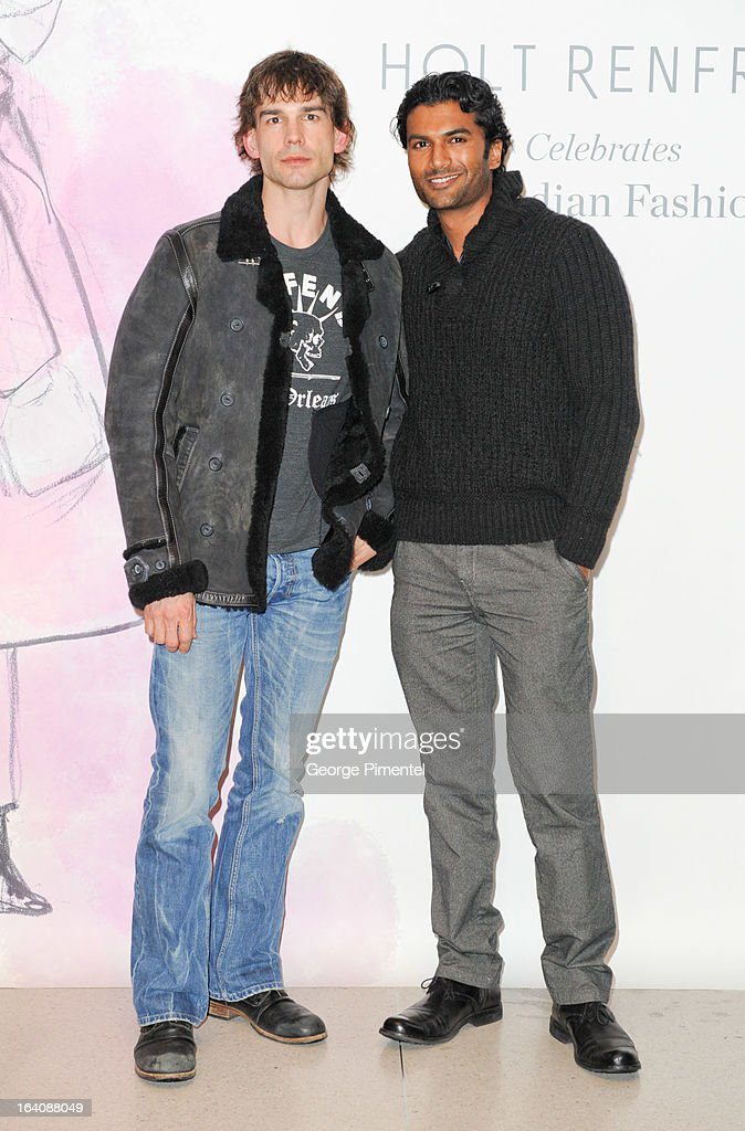 World MasterCard Fashion Week Fall 2013 Collection in Toronto - Holt Renfrew Opening Night Party : News Photo