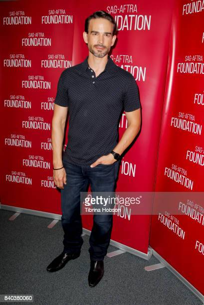 Christopher Gorham attends the SAGAFTRA Foundation Conversations with 'A Boy Called Po' at SAGAFTRA Foundation Screening Room on August 28 2017 in...