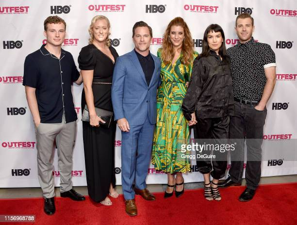 Christopher Gray Mandy Ward Mike Doyle Kate Walsh Zoe Chao and Scott Evans attend the 2019 Outfest Los Angeles LGBTQ Film Festival Screening Of Sell...