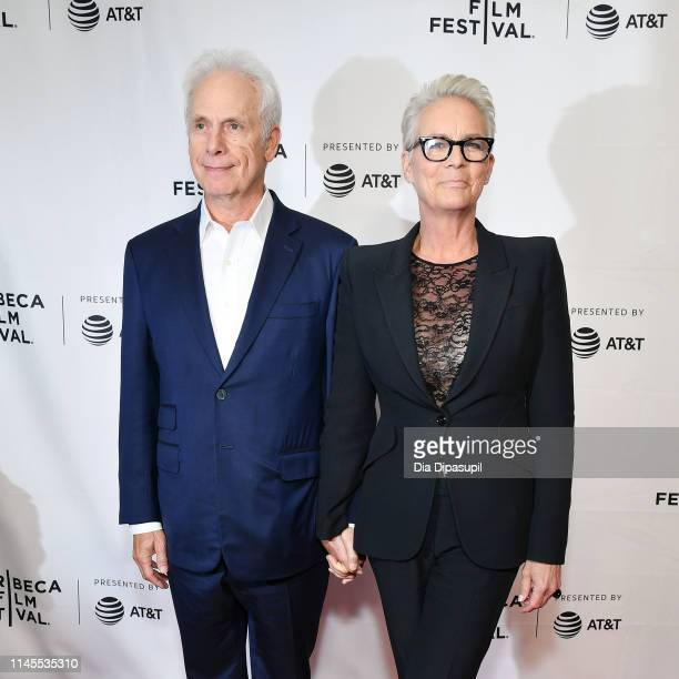 Christopher Guest and Jamie Lee Curtis attend the This Is Spinal Tap 35th Anniversary during the 2019 Tribeca Film Festival at the Beacon Theatre on...