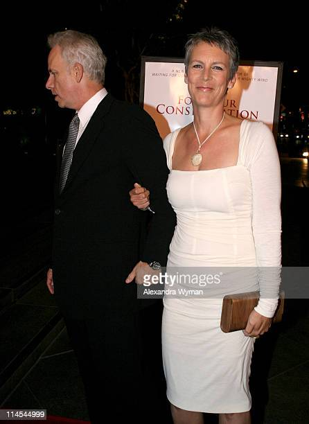 Christopher Guest and Jamie Lee Curtis during For Your Consideration Los Angeles Premiere Arrivals at Director's Guild of America in Beverly Hills CA...