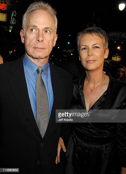 Christopher Guest and Jamie Lee Curtis during Music and Lyrics Los Angeles Premiere Red Carpet at Grauman's Chinese Theater in Hollywood California...