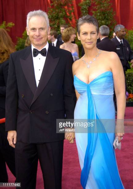Christopher Guest and wife Jamie Lee Curtis during The 76th Annual Academy Awards Arrivals by Jeff Kravitz at Kodak Theatre in Hollywood California...