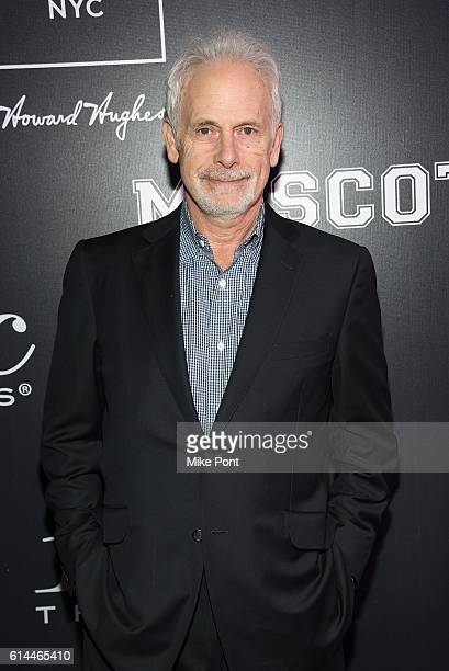 Christopher Guest attends the Mascots New York Premiere at iPic Fulton Market on October 13 2016 in New York City