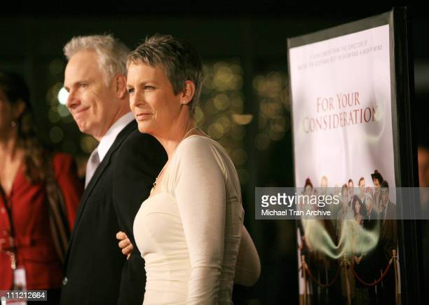 Christopher Guest director/writer and Jamie Lee Curtis
