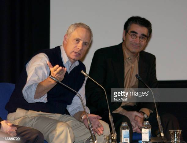 Christopher Guest during The Times BFI London Film Festival 2003 - Christopher Guest Masterclass at National Film Theatre in London, United Kingdom.