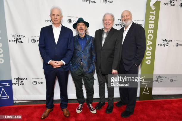 Christopher Guest Harry Shearer Michael McKean and Rob Reiner attend the This Is Spinal Tap 35th Anniversary during the 2019 Tribeca Film Festival at...