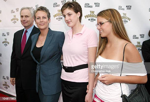 Christopher Guest Jamie Lee Curtis with daughter Annie and guest