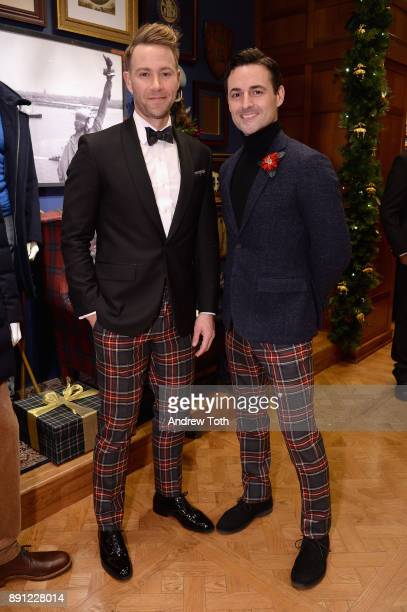 Christopher Hanke and Max von Essen attend as Brooks Brothers celebrates the holidays with St Jude Children's Research Hospital on December 12 2017...