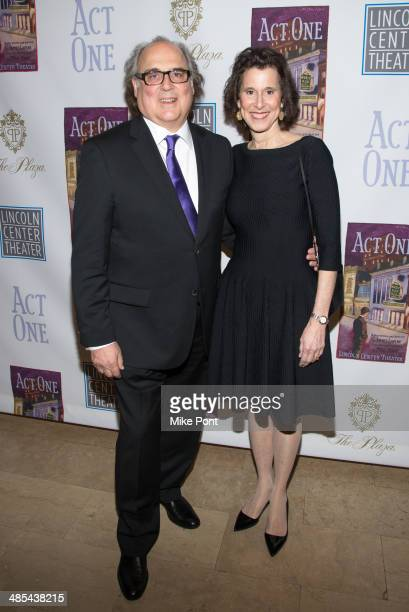Christopher Hart and Catherine Hart attend the opening night party for 'Act One' at The Plaza Hotel on April 17 2014 in New York City