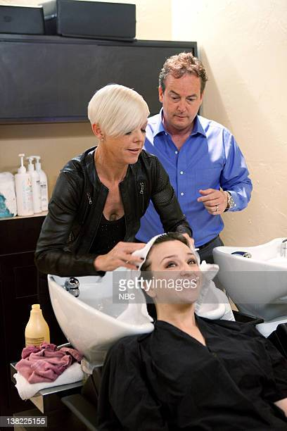 S SALON TAKEOVER 'Christopher Hill Brentwood CA' Episode 302 Pictured Tabatha Coffey client owner Tim Byk