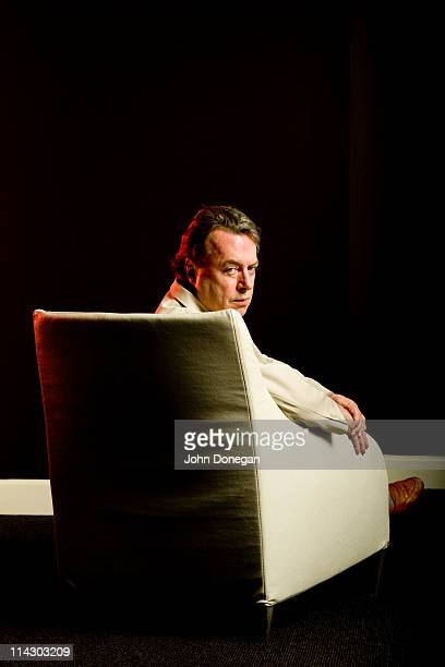 Christopher Hitchens poses during a portrait session on May 22 2010 in Australia