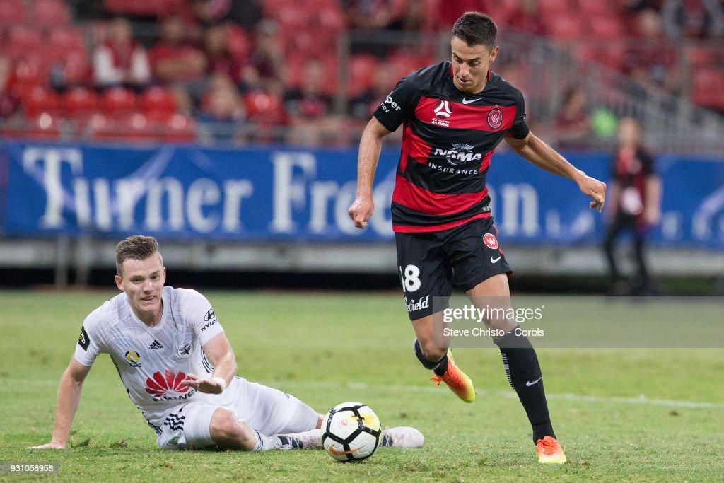 A-League Rd 22 - Western Sydney v Wellington