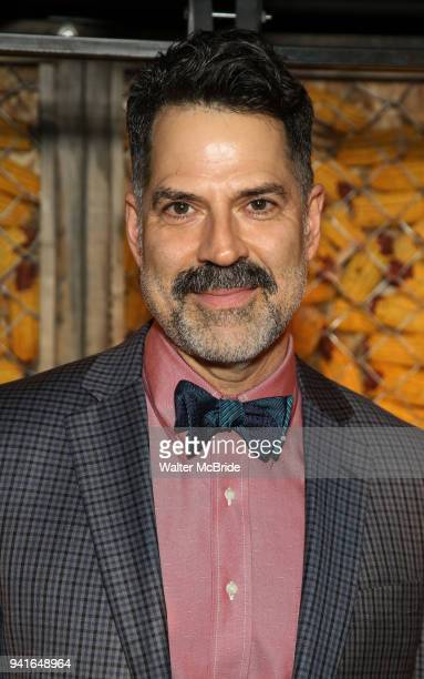 Christopher Innvar attends the opening night press reception for the Roundabout Theatre Company/Roundabout Underground production of 'Bobbie Clearly'...