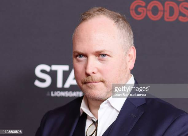 Christopher J Byrne attends the premiere of STARZ's 'American Gods' season 2 at Ace Hotel on March 05 2019 in Los Angeles California