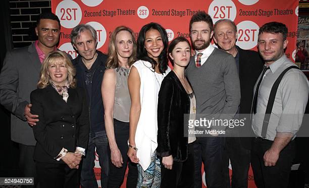 Christopher Jackson, Artistic Director Carole Rothman, Playwright Paul Weitz, Lisa Emery, Maureen Sebastian, Olivia Thirlby, Topher Grace, Mark Blum...