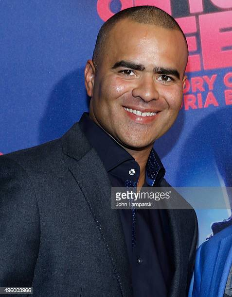 Christopher Jackson attends 'On Your Feet' Broadway Opening Night after party at Marquis Theatre on November 5 2015 in New York City