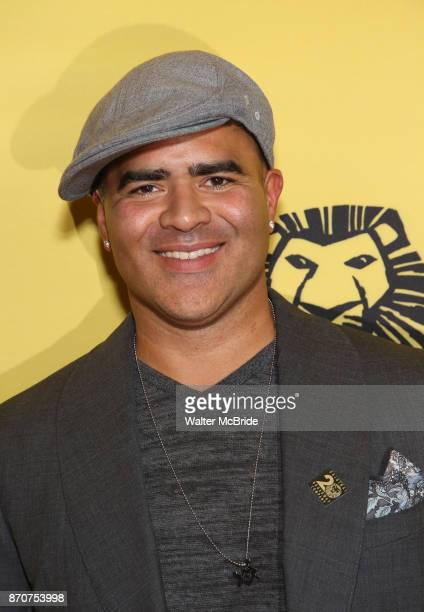 Christopher Jackson attends the 20th Anniversary Performance of 'The Lion King' on Broadway at The Minskoff Theatre on November e 2017 in New York...