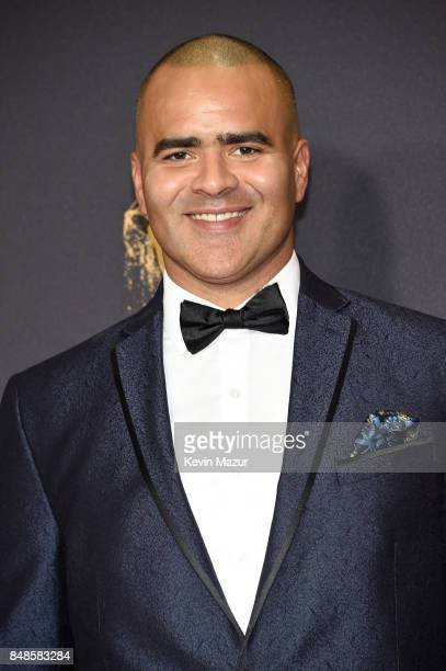 Christopher Jackson attends the 69th Annual Primetime Emmy Awards at Microsoft Theater on September 17 2017 in Los Angeles California