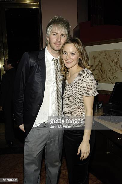 Christopher Jarecki and Alicia Silverstone at the after party for the Los Angeles Premiere of Pulitzer Prizewinning David Mamet's play 'Boston...
