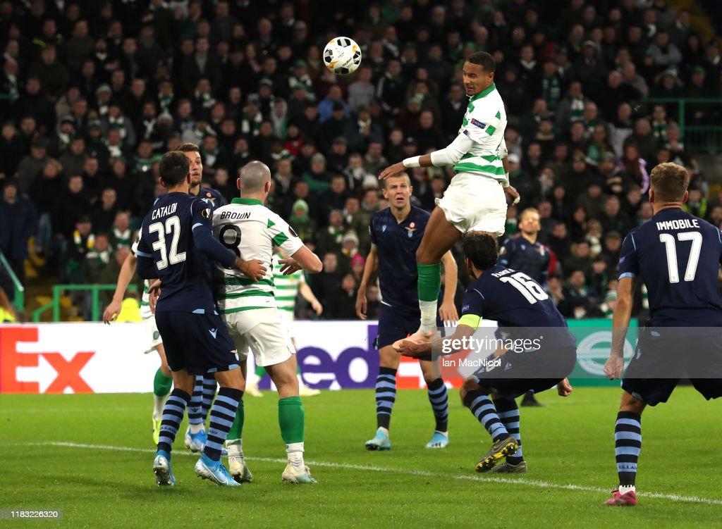 Celtic FC v Lazio Roma: Group E - UEFA Europa League : News Photo