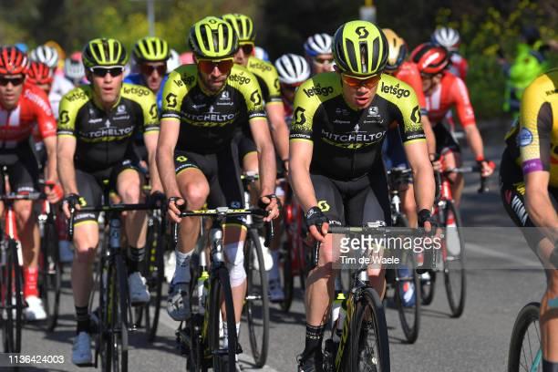 Christopher Juul Jensen of Denmark and Team Mitchelton - Scott / Damien Howson of Australia and Team Mitchelton - Scott / during the 54th...