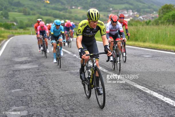Christopher Juul Jensen of Denmark and Team Mitchelton - Scott / during the 102nd Giro d'Italia 2019, Stage 16 a 194km stage from Lovere to Ponte di...