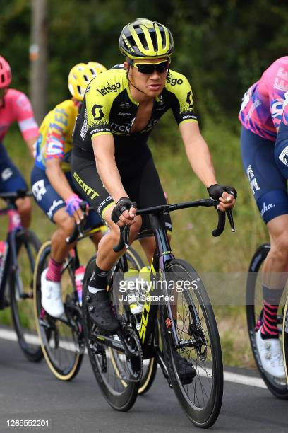 Christopher Juul Jensen of Denmark and Team Mitchelton - Scott / during the 72nd Criterium du Dauphine 2020, Stage 1 a 218,5km stage from Clermont...