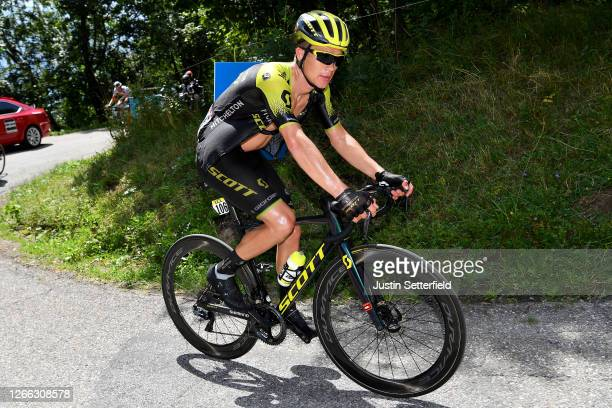 Christopher Juul Jensen of Denmark and Team Mitchelton - Scott / during the 72nd Criterium du Dauphine 2020, Stage 3 a 157km stage from Corenc to...