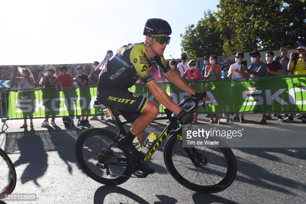 Christopher Juul Jensen of Denmark and Team Mitchelton - Scott / during the 107th Tour de France 2020, Stage 14 a 194km stage from Clermont-Ferrand...