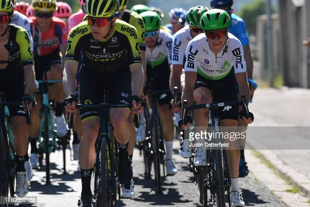 Christopher Juul Jensen of Denmark and Team Mitchelton-Scott / Ben King of The United States and Team Dimension Data / during the 106th Tour de...