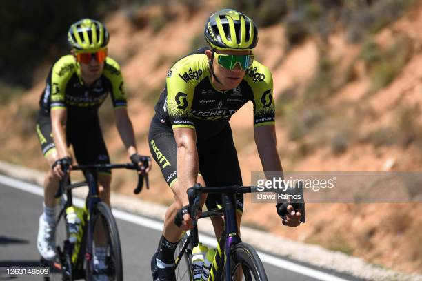 Christopher Juul Jensen of Denmark and Team Mitchelton-Scott / during the 42nd Vuelta a Burgos 2020, Stage 5 a 158km stage from Covarrubias to...