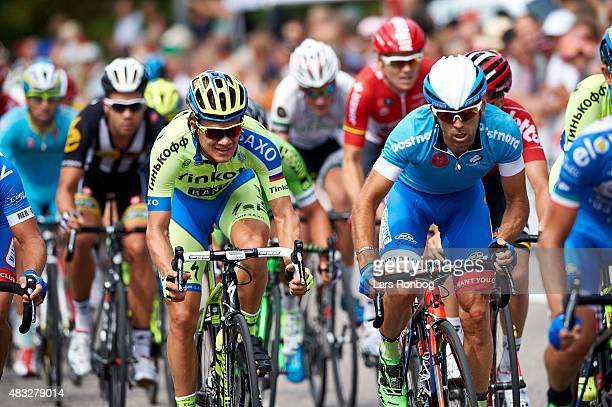 Christopher Juul Jensen of Tinkoff Saxo in action during stage 4 of the 2015 Tour of Denmark , a 116km stage from Slagelse to Frederiksvark, on...