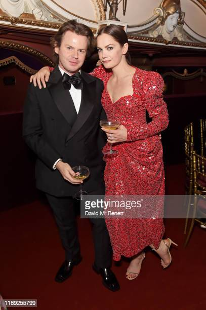Christopher Kane and Ruth Wilson attend the after party of the 65th Evening Standard Theatre Awards In Association With Michael Kors at London...