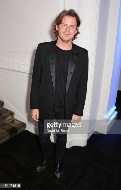 Christopher Kane arrives at the Scottish fashion invasion of London at the 9th annual Scottish Fashion Awards at 8 Northumberland Avenue on September...