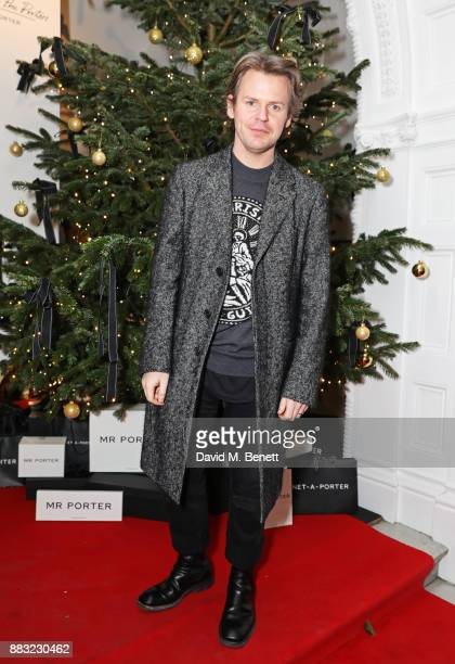 Christopher Kane attends a party hosted by NETAPORTER and MR PORTER to celebrate the festive season in style at One Horse Guards on November 30 2017...