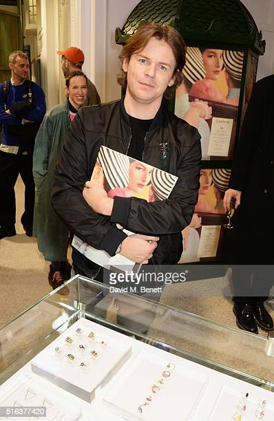 Christopher Kane attends an exclusive VIP preview of the Dover Street Market on March 18 2016 in London England