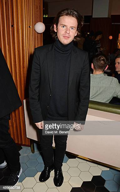 Christopher Kane attends as Bistrotheque and Hoi Polloi unveil their Christmas Lights on November 27, 2014 in London, England.