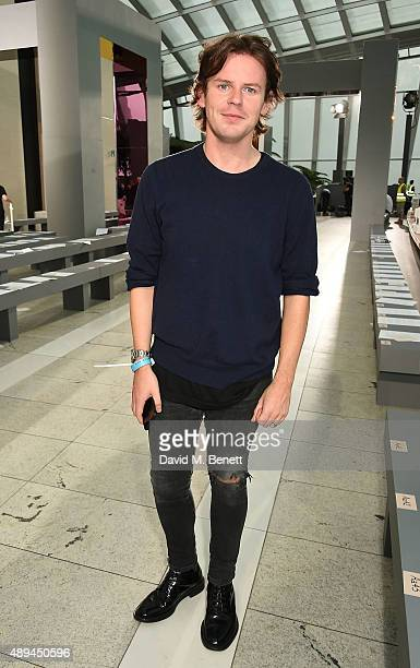 Christopher Kane attends his show during London Fashion Week SS16 at Sky Garden on September 21, 2015 in London, England.
