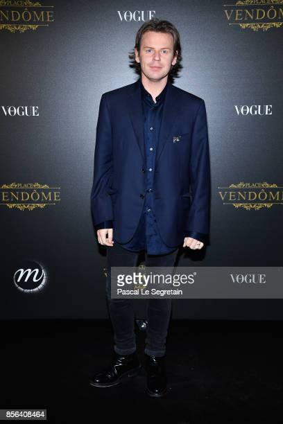 Christopher Kane attends the Irving Penn Exhibition Private Viewing Hosted by Vogue as part of the Paris Fashion Week Womenswear Spring/Summer 2018...