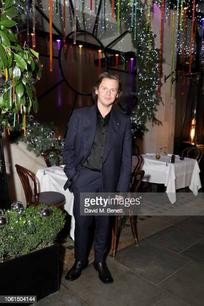Christopher Kane attends the launch of the Christopher Kane Christmas terrace at Scott's on November 14, 2018 in London, England.