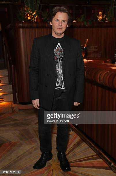 Christopher Kane attends the LOVE Magazine LFW Party, celebrating issue 23 at The Standard, London on February 17, 2020 in London, England. LOVE...