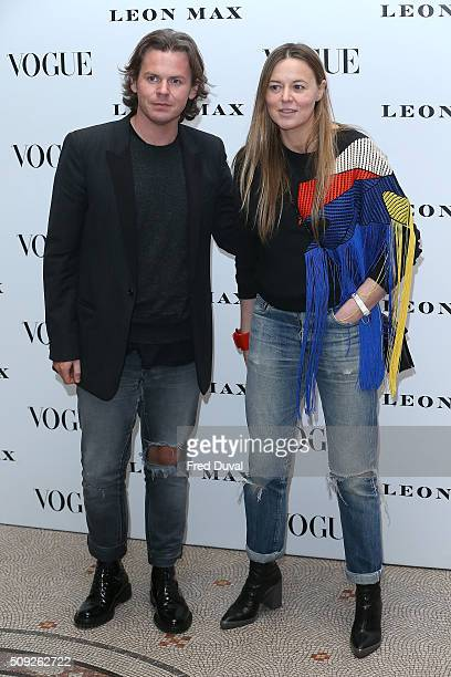 Christopher Kane attends the opening of Vogue 100 A Century of Style at National Portrait Gallery on February 9 2016 in London England